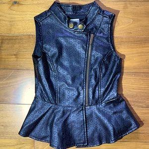 Ella Moss Faux Leather Vest